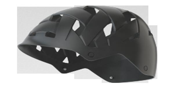 Hardshell eines Rockwell Helms